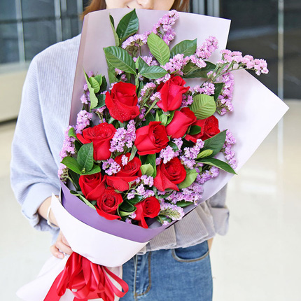 长宁区贝多芬广场送女票鲜花