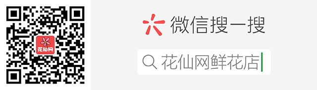 花仙网微信公众号配图
