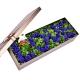 守护爱情-33枝蓝玫瑰,丰满绿叶间插