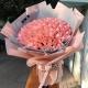 心中有你-99枝精品粉玫瑰