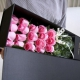 暖暖的爱套餐组合-德芙98g心形礼盒+19朵苏醒玫瑰枪炮礼盒